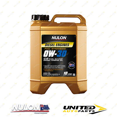 AU127.99 • Buy Full Synthetic 0W-30 C2 Fuel Saving Diesel Engine Oil 10L For PEUGEOT 4007 2.2L