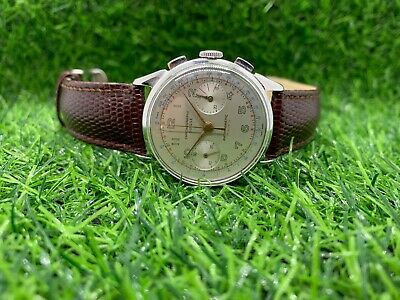 $ CDN1110.65 • Buy Vintage Chronographe Suisse In Stainless Steel Landeron 248 Movement Ref 6528