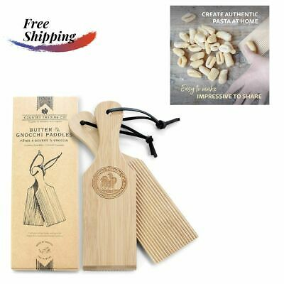 AU26.50 • Buy Gnocchi Boards - Wooden Butter Paddles To Easily Create Authentic Homemade Pasta