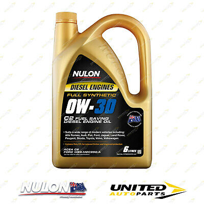 AU71.99 • Buy NULON Full Synthetic 0W-30 C2 Fuel Saving Diesel Engine Oil 6L For FORD Mondeo