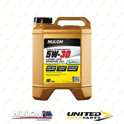 AU106.01 • Buy NULON Full Synthetic 5W-30 Long Life Engine Oil 10L For FORD Territory