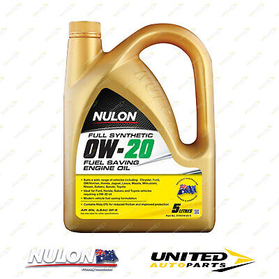 AU52.24 • Buy NULON Full Synthetic 0W-20 Fuel Saving Engine Oil 5L For LEXUS IS250