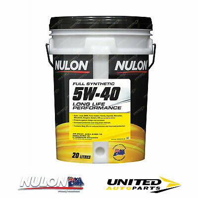 AU177.62 • Buy NULON Full Synthetic 5W-40 Long Life Engine Oil 20L For MERCEDES-BENZ C200