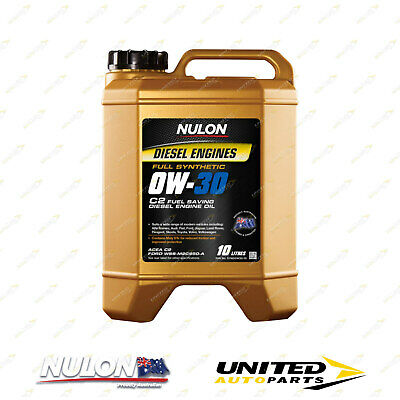 AU127.99 • Buy Full Synthetic 0W-30 C2 Fuel Saving Diesel Engine Oil 10L For SUBARU Forester