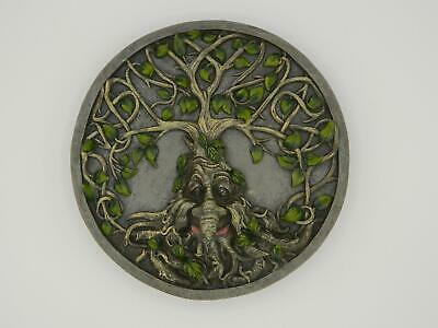 £22.75 • Buy Greenman Tree Of Life Wall Plaque/Tree Ent/Magick/Pagan/Wicca/Witch