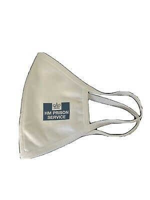 Hm Prison Face Mask Hmp Issue New Washable • 5£
