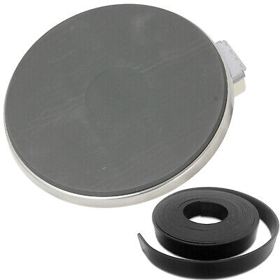 £18.65 • Buy Solid Hotplate 1500W 180mm 8mm Seal Tape For HOTPOINT INDESIT CREDA ARISTON Hob