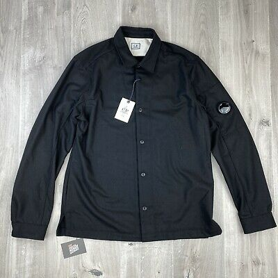 Cp Company Black Overshirt Xxl New With Tags Genuine • 139.95£
