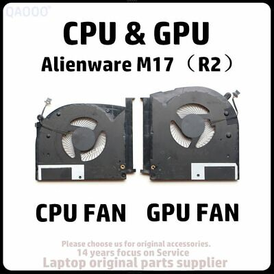 $ CDN29.60 • Buy Laptop Replacement Part For Dell Alienware M17 (R2) CPU & GPU Cooling Fan