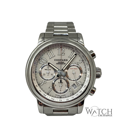 Chopard Mille Miglia 8511 Chronograph Mother Of Pearl Dial Automatic Gents Watch • 1,945£