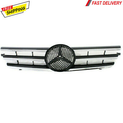 $132.77 • Buy New For MERCEDES-BENZ C230 Front Grille Black Fits 2002-05 MB1200150 2038800383