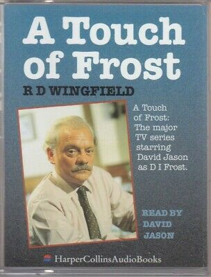 Audio Casettes - A Touch Of Frost R D Wingfield Read By David Jason (DT) • 4.25£