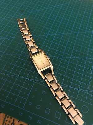 Dkny Watch Women Used.Champagne Dial.Stainless Steel Bracelet.Shiny Two Tone • 20£