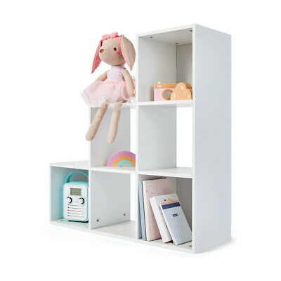 AU62.50 • Buy 6 Cube Display Unit Bookshelf Storage Furniture White Shelving Home Decor