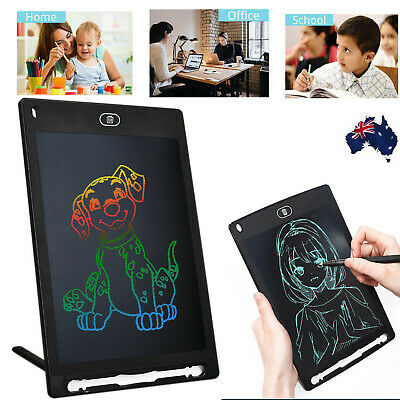 AU18.99 • Buy 8.5  Electronic Digital LCD Writing Pad Tablet Drawing Color Board Stylus Kit