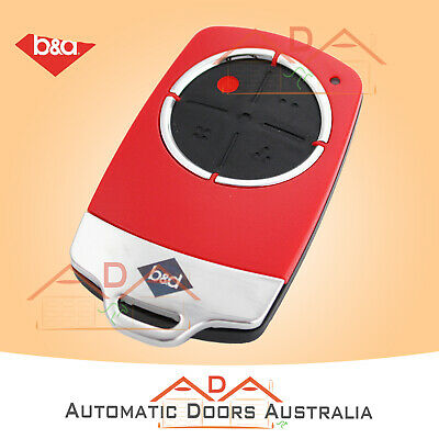 AU61.95 • Buy B&D TB6 Red Tri Tran+ Remote 70208 B&D TB5, BD4, TB2, Garage Door Hand Transmitt