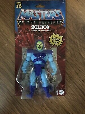 "$34.98 • Buy Mattel SKELETOR Masters Of The Universe Origins Retro 5.5"" IN HAND -NEW"