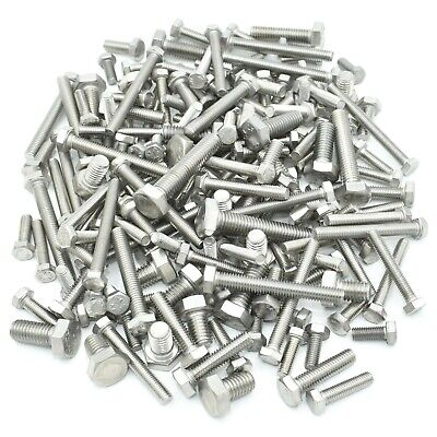 £8.39 • Buy Mixed Stainless Steel A2 M5 M6 M8 Fasteners Fully Threaded Bolts / Set Screws