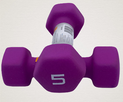 $ CDN31.82 • Buy CAP Hex Neoprene 5 Lb Pound Each Set Of 2 Dumbbell Weight - New - IN STOCK