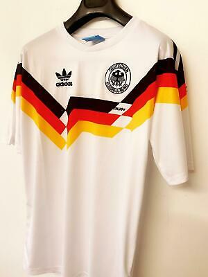 West Germany 1984 - 1986 Football Jersey Home Tshirt Retro Vintage Style • 20.99£