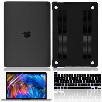 $35.14 • Buy 3in1 Slim Rubberized Case+KB Cover+HD Film For MacBook Pro 15 Inch A1990/A1707