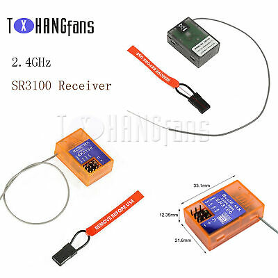 2.4GHzSR3100 Receiver 3 Channel Surface For DSM2 Receiver For RC CAR RC BOAT ATF • 10.80£