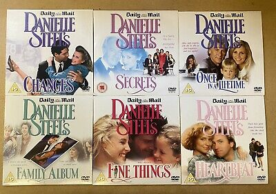 6 X Dvd Disc Collection Danielle Steel Daily Mail Promo  • 3.89£