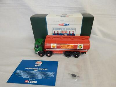 Corgi Aec Mkv Mammoth Major Tanker Shell Mex & Bp Limited Cc11502 Mib 1:50 • 39.99£