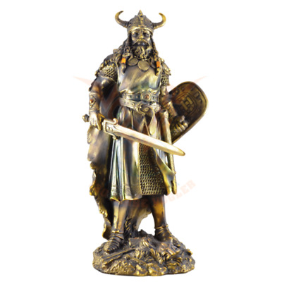The Battle Ready Viking Warrior Statue Depicts A Classic Viking Warrior • 142.50£