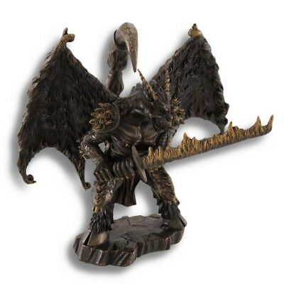 Greek Mythology God `Chaos` Cold Cast Bronze Statue Highly Detailed. • 37.50£