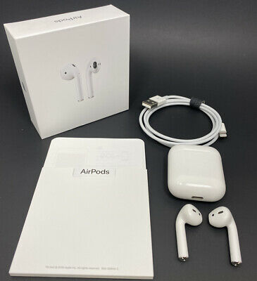 $ CDN89.95 • Buy Apple Airpods 2nd Generation Earbuds With Charging Case