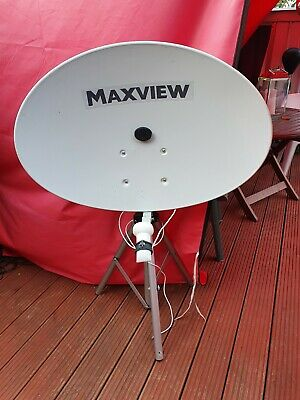 Maxview Precision Portable Satellite Dish - Ideal For Caravan Or Motorhome Use. • 95£
