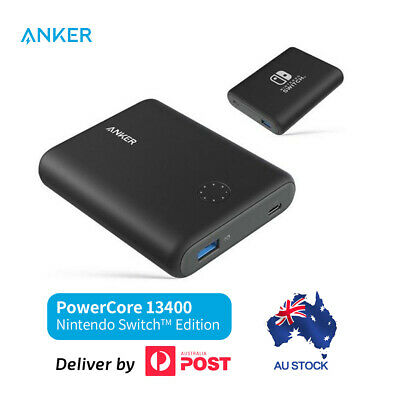 AU71.99 • Buy Anker PowerCore 13400 Nintendo Switch Edition Portable Power Delivery Charger