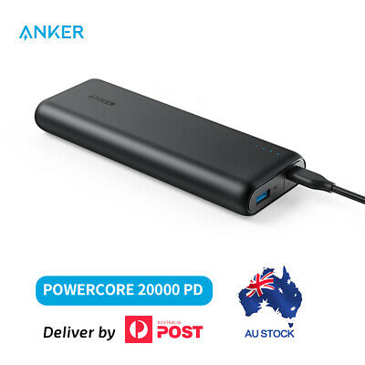 AU80.95 • Buy Anker 20000mAh Power Bank With PD External Battery PowerCore Speed USB Charger