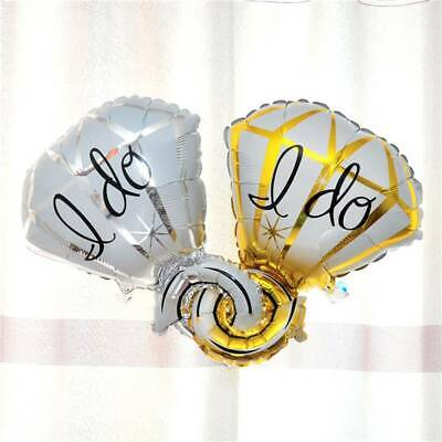 AU4.31 • Buy Diamond Ring Engagement Wedding Celebration Foil Helium Foil Balloon Interesting