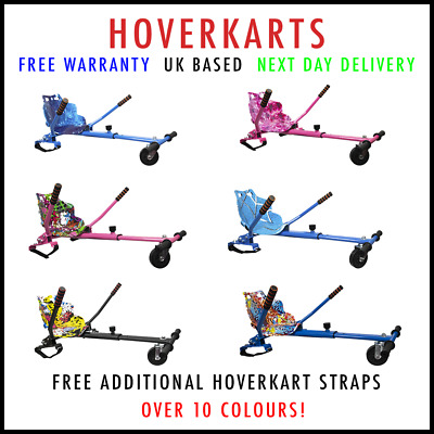 Official Premium Hoverkart Go Kart For Segway Swegway Hoverboard Scooter 2020! • 59.99£