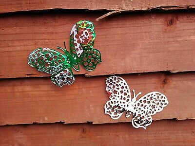 Pack Of 9 Drinks Can Bugs Butterflies Garden Decoration Ornaments. • 4.50£
