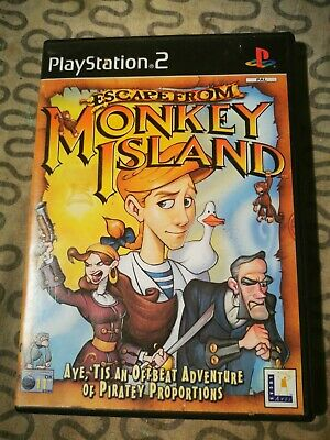Escape From Monkey Island Ps2 Game. FREE POSTAGE  • 6£