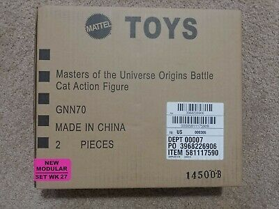 $135 • Buy TWO Master Of The Universe Origins Battle Cat 2020 Wal-Mart IN BOX UNOPENED