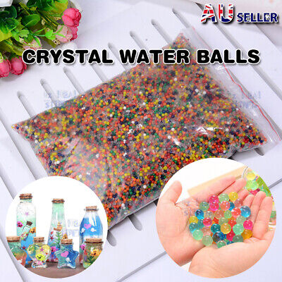 AU19.37 • Buy 250g Large Jumbo Giant Orbeez Crystal Soil Water Balls Jelly Gel Beads Home 13mm