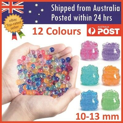 AU16.38 • Buy Orbeez Crystal Soil Water Balls Jelly Gel Beads For Vase Home Wedding 10-13mm