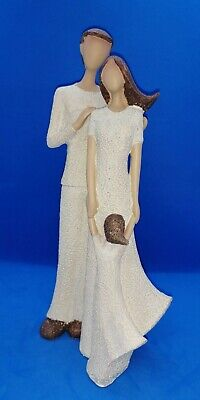 £16.95 • Buy Landon Tyler Natural Interiors Handcrafted Collectable Figurine - Family