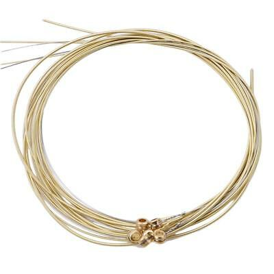 $ CDN1.74 • Buy Replacement Steel Acoustic Guitar Strings Colorful Metal Steel String Set KY