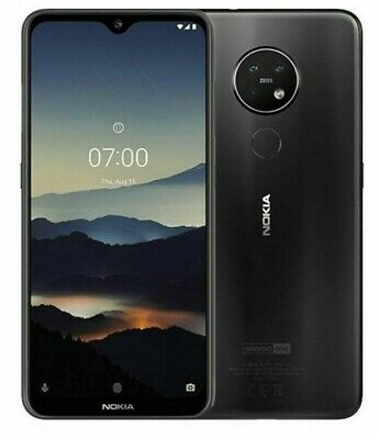 Nokia 7.2 Charcoal 64GB 6.3  Dual Sim GPS HD NFC Unlocked Android Smartphone UK • 155£