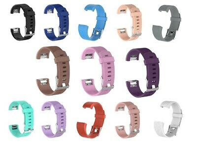 $ CDN12 • Buy Replacement Silicone Wrist Band Strap Bracelet Fitbit Charge 2 Smart Watch SM LG