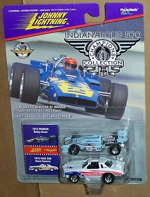 $6.95 • Buy Johnny Lightning Indianapolis 500 '75 Bobby Unser & '75 Pace Car Buick Century