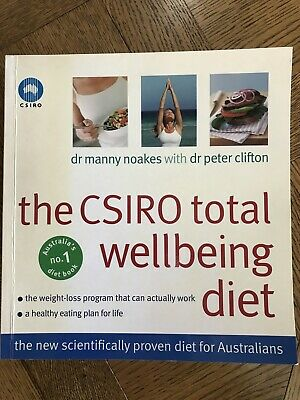 AU32.50 • Buy The CSIRO Total Wellbeing Diet Paperback Book AS NEW By Dr Noakes & Dr Clifton