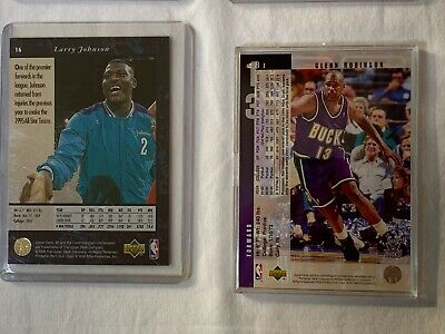 $ CDN40.22 • Buy Basketball Card Lots: Lot #4 8 Cards In Sleeves /Cases