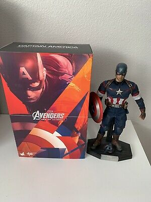 $ CDN367.48 • Buy Hot Toys Avengers Age Of Ultron- Captain America Action Figure USED Read Details
