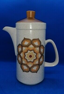 Vintage Retro 1960s/70s Royal Worcester Palissy Kalabar Coffee Pot • 16.95£